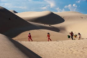 The Sand Dunes in Phan Thiet