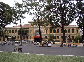Ho Chi Minh - post office